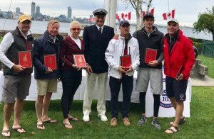 J105 Canadians Second Starcross 2019